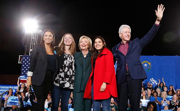 Eva Longoria and America Ferrera for Hillary Clinton