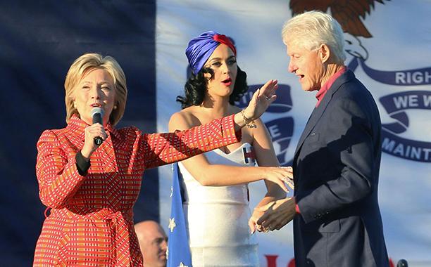 Katy Perry for Hillary Clinton
