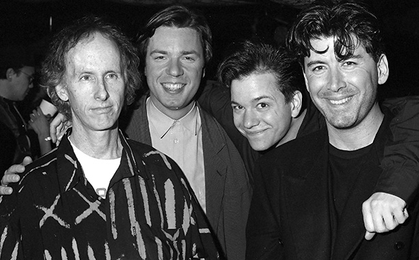 Robby Krieger, Chris Connelly, and Frank Whaley