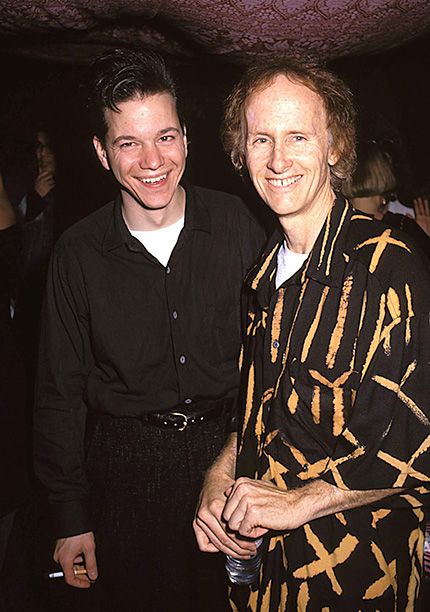 Frank Whaley and Robby Krieger