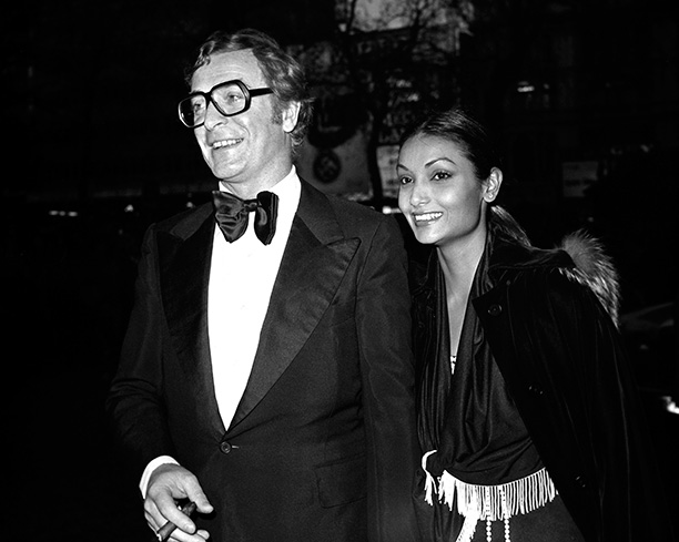 With His Wife Shakira Baksh on April 1977