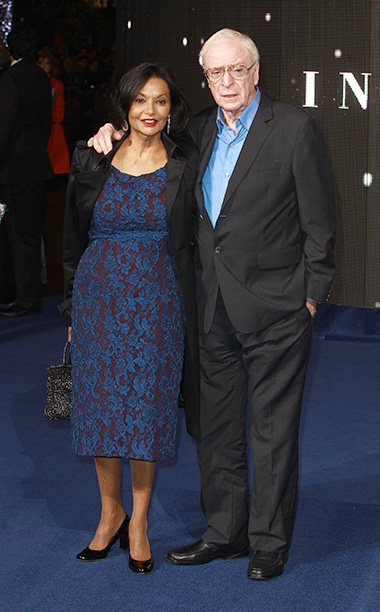 With His Wife Shakira Baksh on October 29, 2014