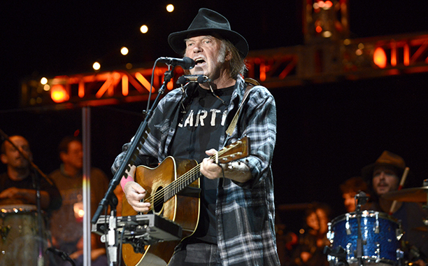 Neil Young for Bernie Sanders