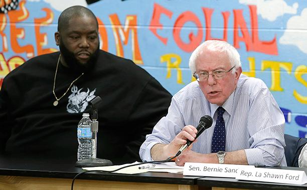 Killer Mike for Bernie Sanders