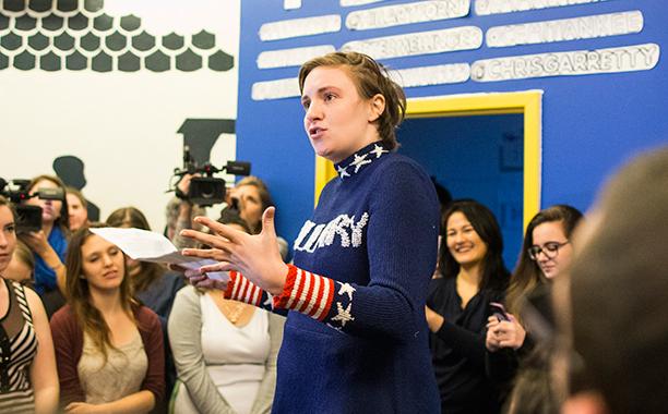 Lena Dunham for Hillary Clinton