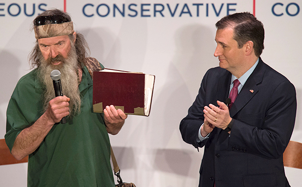 Phil Robertson for Ted Cruz