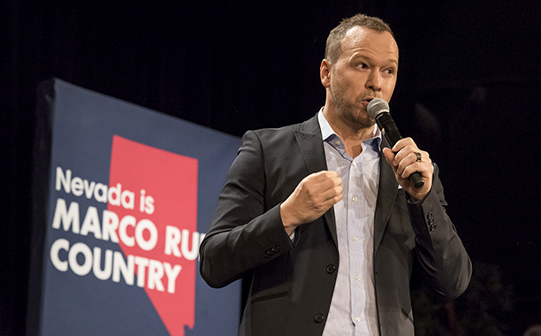 Donnie Wahlberg for Marco Rubio