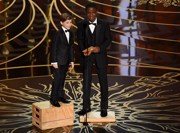 Jacob Tremblay and Abraham Attah Present