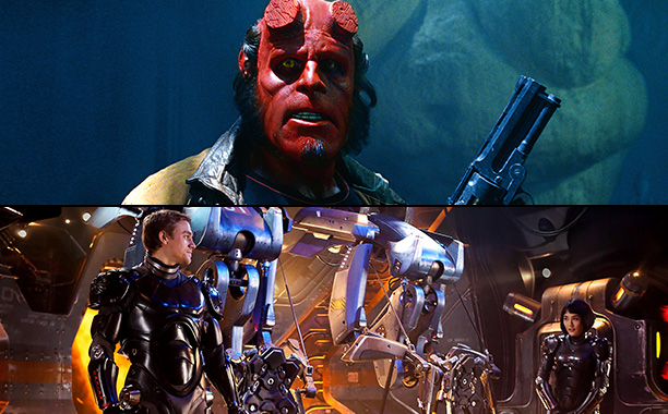 Hellboy (2004) and Pacific Rim (2013)