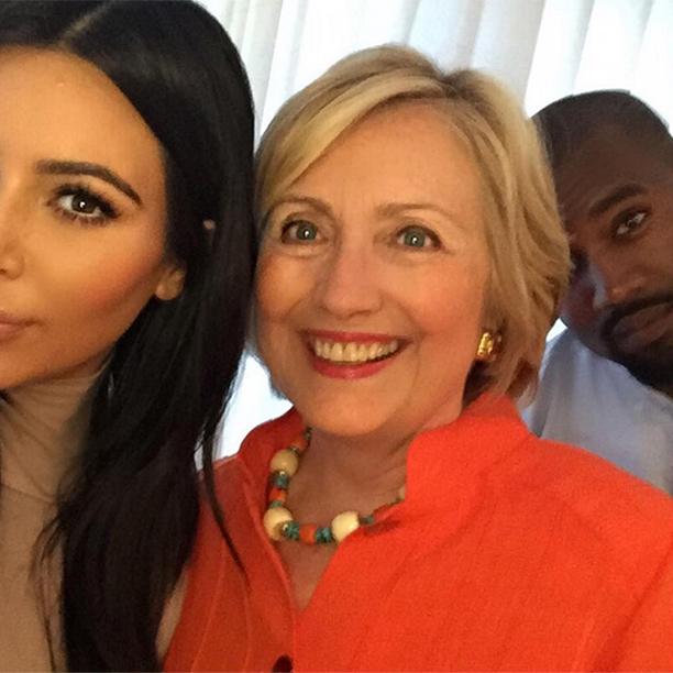 Kim Kardashian for Hillary Clinton