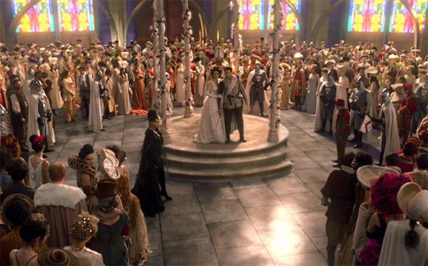 Edward Kitsis on that big wedding