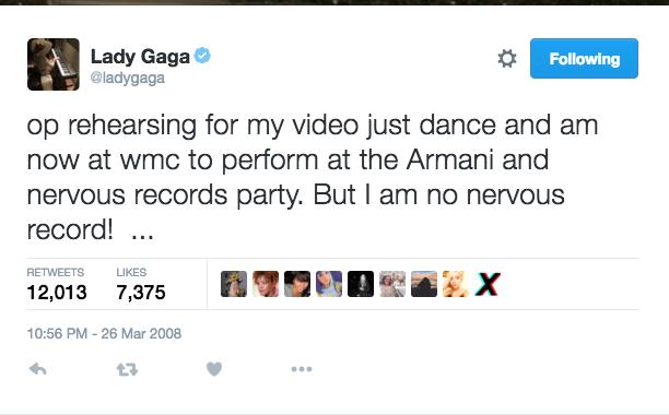 Lady Gaga: March 26, 2008