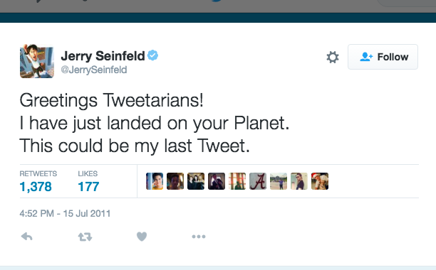 Jerry Seinfeld: July 15, 2011