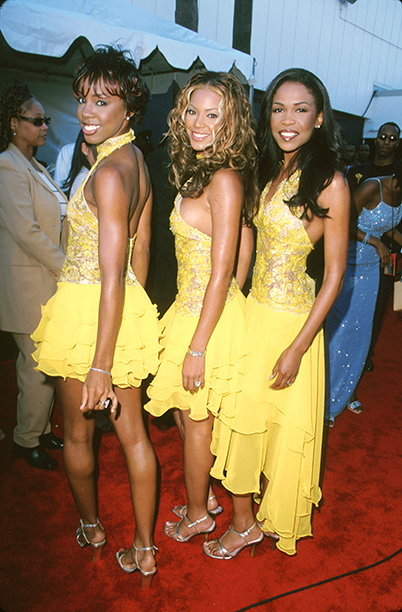 Kelly Rowland, Beyonce Knowles, and Michelle Williams at The 6th Annual Soul Train Lady of Soul Awards in 2000