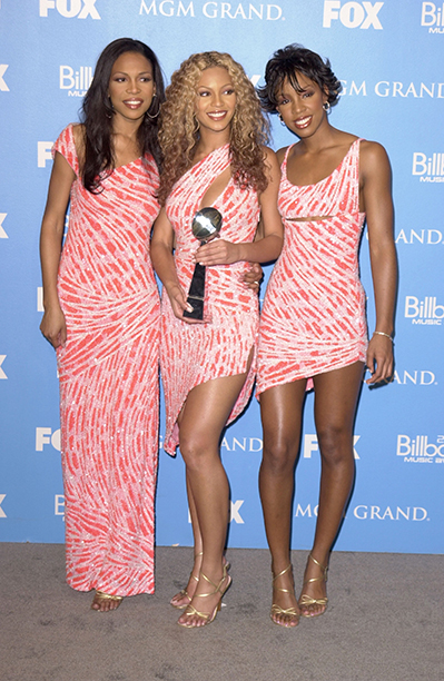 Michelle Williams, Beyonce Knowles, and Kelly Rowland at the 2000 Billboard Music Awards