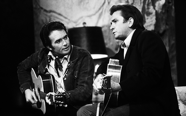 Merle Haggard on The Johnny Cash Show on August 2, 1969
