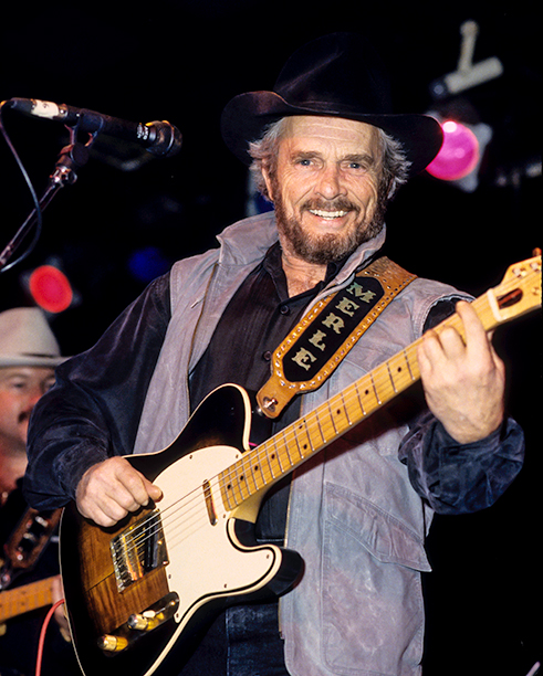 Merle Haggard and The Strangers at Tramps in New York City on June 23, 1993