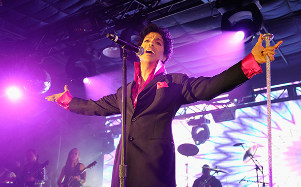 Prince at SXSW on March 16, 2013
