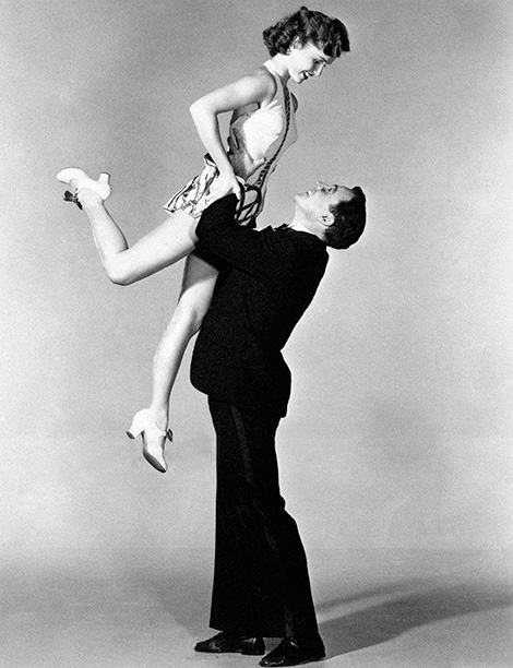 Debbie Reynolds in Singin' in the Rain With Gene Kelly in 1952