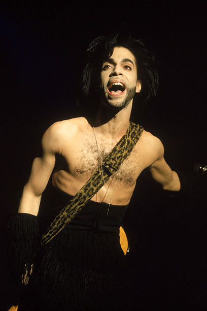 Prince Performing on April 30, 1990