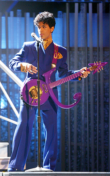 Prince Performing at the 46th Annual Grammy Awards on February 8, 2004