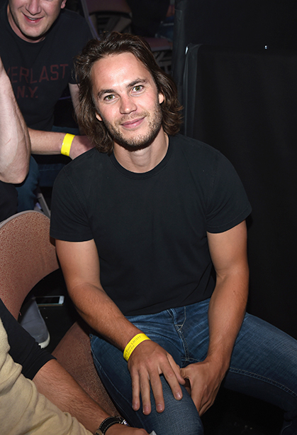 Taylor Kitsch on August 16, 2014