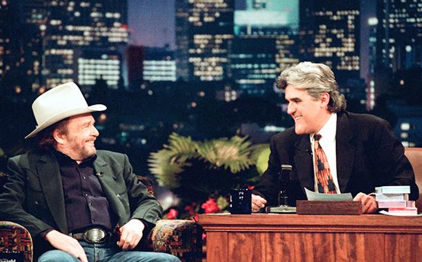 Merle Haggard on The Tonight Show With Jay Leno on January 15, 1996