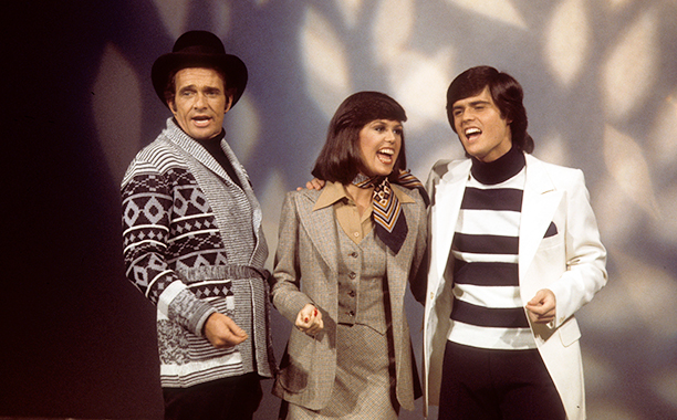 Merle Haggard With Donny Osmond and Marie Osmond on Donny & Marie on January 14, 1977