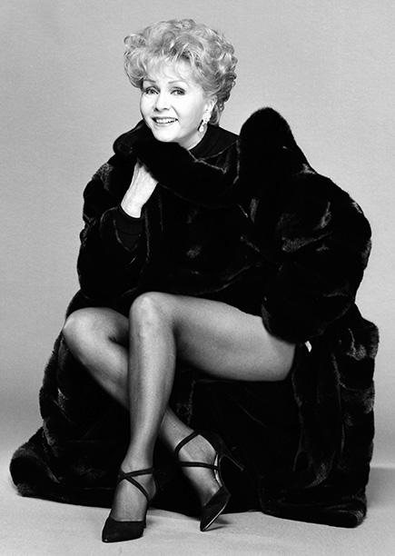 Debbie Reynolds in New York City in November 1993