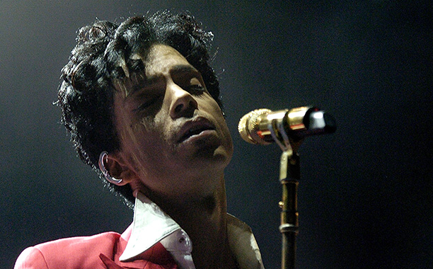 Prince at the 10th Anniversary Essence Music Festival on July 2, 2004