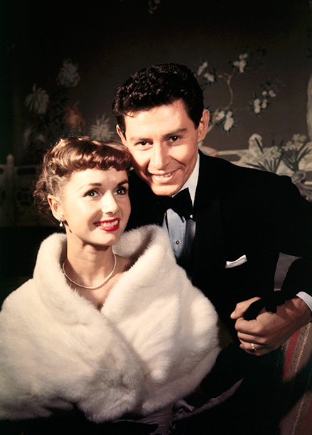 Debbie Reynolds and Eddie Fisher in the Late 1950s