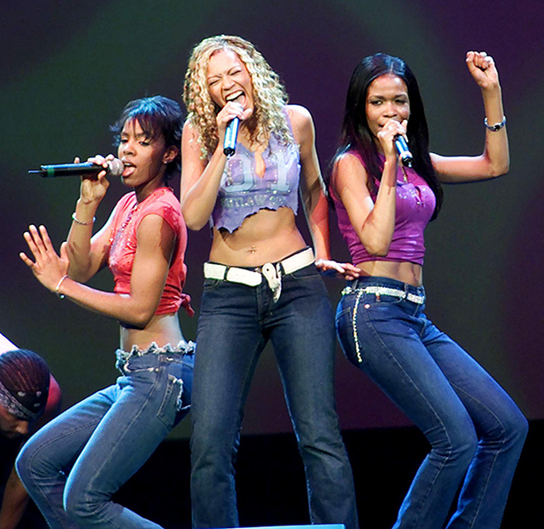 """Kelly Rowland, Beyonce Knowles, and Michelle Williams at """"Celebrating America's Youth"""" in Washington, D.C. in 2001"""