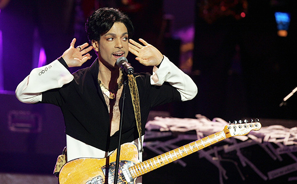 Prince at the 36th Annual NAACP Image Awards on March 19, 2005