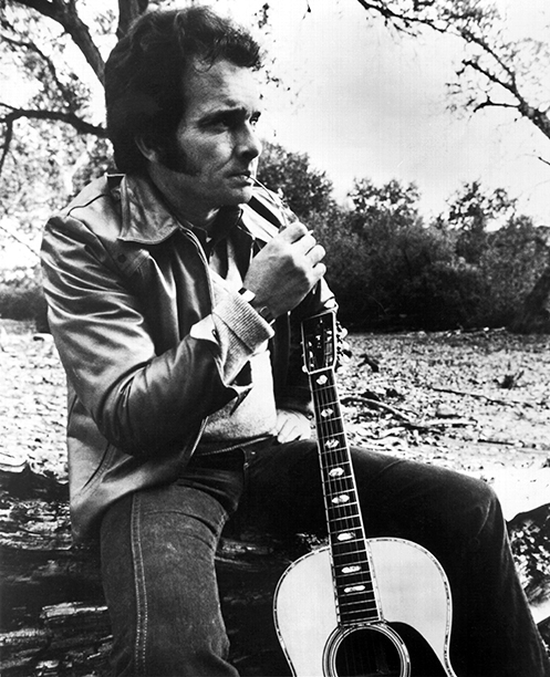 Merle Haggard in the Mid-1970s