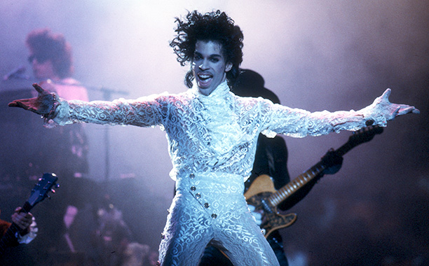Prince Performing on February 19, 1985