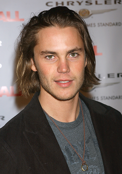 Taylor Kitsch on February 2, 2006