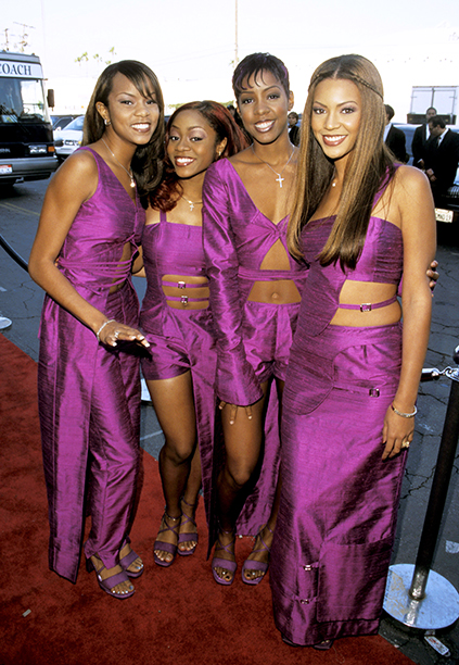 LeToya Luckett, LaTavia Robertson, Kelly Rowland and Beyonce Knowles at the 13th Annual Soul Train Awards
