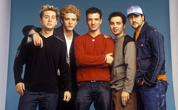 When he was in sync with *NSYNC
