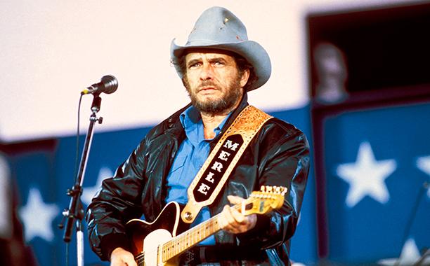 Merle Haggard in 1985