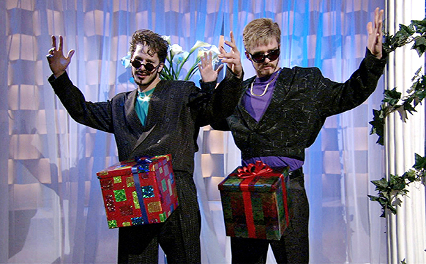 When he redefined the Christmas present