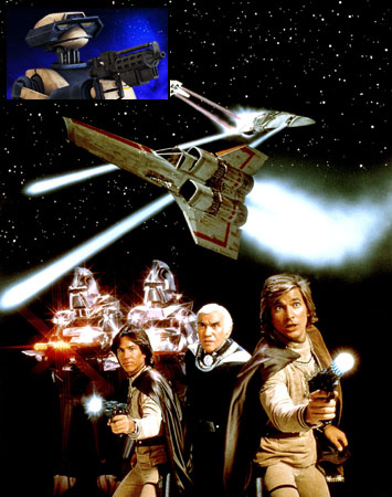 Battlestar Galactica (TV Show - 1978)   Capitalizing on the Star Wars phenomenon, ABC debuted its own gee-whiz space opera Battlestar Galactica in 1978. A battle more fierce than humans vs. Cylons…