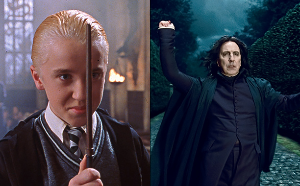 Draco and Snape Do Not Have Other Physical Forms