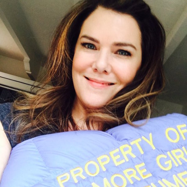Lauren Graham (Lorelai Gilmore): January 29, 2016