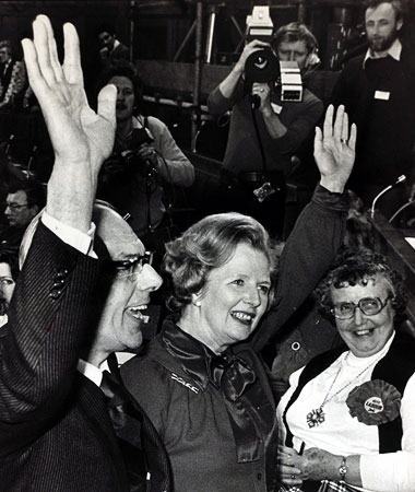 When Margaret Thatcher was elected prime minister of the U.K. on May 4, 1979, the Conservative Party took out a newspaper ad in the London…