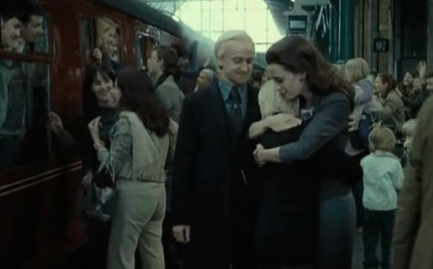 Draco Malfoy and Neville Longbottom Married Hogwarts Alums