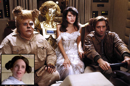 Spaceballs   Okay, the movie parody existed before Star Wars with films like What's Up Tiger Lily? and, well, the Mel Brooks canon poking fun at overripe…
