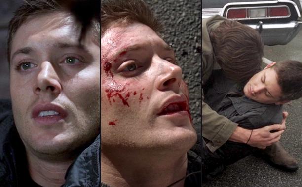 "6. Every Time Dean Died in ""Mystery Spot"" (Season 3, Episode 11)"