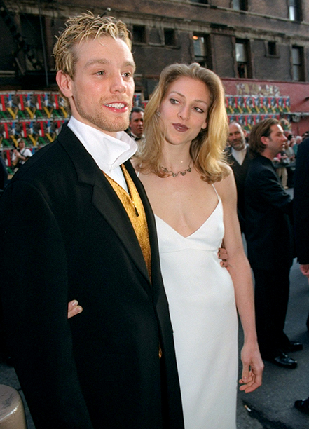 Best Actor in a Musical Nominee Adam Pascal (Rent) and Julie Fishe