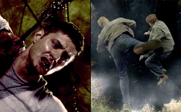 2./1. Dean Goes to Hell/Sam Goes to Hell (Season 3, Episode 16/Season 5, Episode 22)