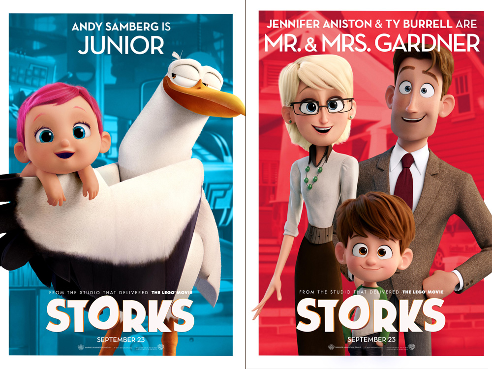 Storks Movie Meet The Cast And Characters Ew Com